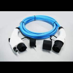 7.4 kW Type2 naar Type1 kabel 5m